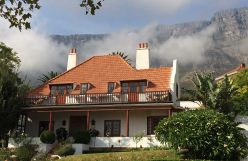 Acorn House on the slope of Table Mountain